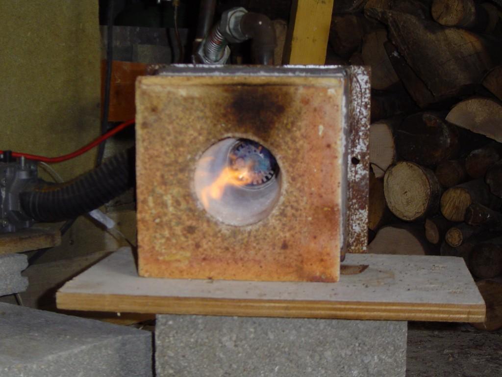 comment construire four a ceramique a gaz